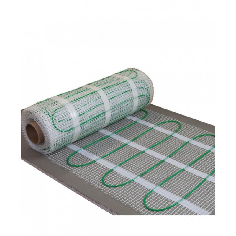 0.5 m x 13.6 m Set Complet avec Thermostat Touchscreen 6.8 m/² Kit Plancher chauffant /électrique rayonnant 150 W//m/²