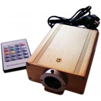 Kit de fibra óptica RGB 16 W Skyled cielo con control remoto