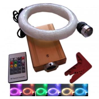 Cielo di kit della fibra ottica Skyled RGB 16 W con telecomando