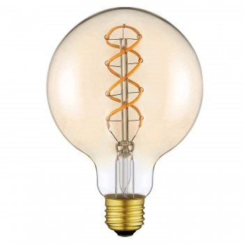 Bombilla R80 E27 4w LED estilo vintage lámpara de Edison