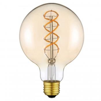 Lampadina LED vintage XXL 4w E27 G125 Lampadina Edison
