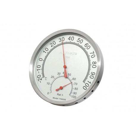Thermometer for sauna RENTO color aluminum copper