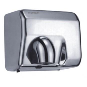 Sèche-main professionnel Vitech Electrique automatique inox chromé a air pulsé 2300 W anti vandalisme à tête orientable