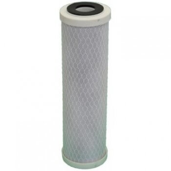 Lot de 3 cartouche charbon actif  + sédiment 5 microns pour porte filtre 9-3/4 - 10 Pouces