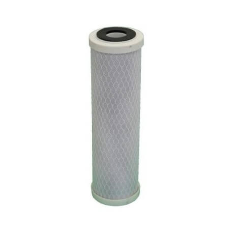 Cartridge activated carbon + sediment 10 microns for door filter 9-3/4-10 inches