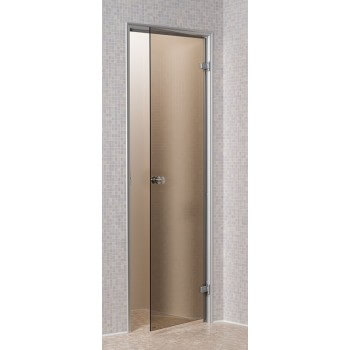 Door for Hammam bronze 80 x 190 cm