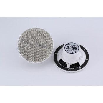 Kit enceinte étanche 2 x 80W avec télécommande déporté et télécommande centrale USB/bluetooth/carte SD/FM
