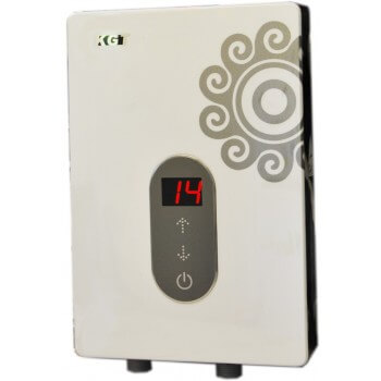 Water heater snapshot 7Kw KGT touch adjustment for shower, sink