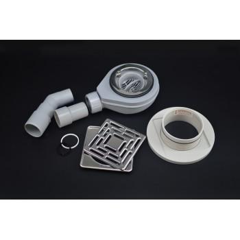 Siphon für Standard- Duschwanne