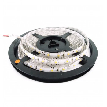 Ruban à LED 5m Blanc froid résistant aux éclaboussures IP65 (avec transformateur 12V)