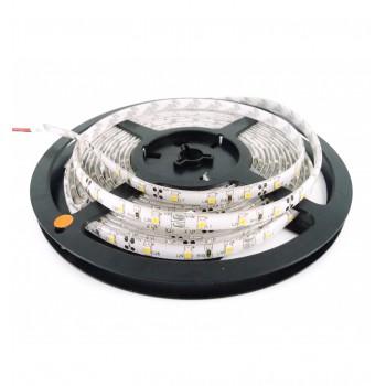 Ruban à LED 5m Blanc chaud résistant aux éclaboussures IP65 (avec transformateur 12V)