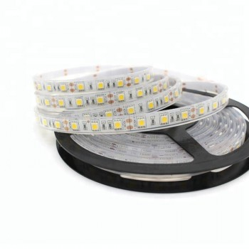 Cinta de led impermeables blanco caliente 5 metros 12v con transformador IP68