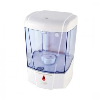 Soap dispenser and automatic wall shampoo 600 ml ergonomic transparent
