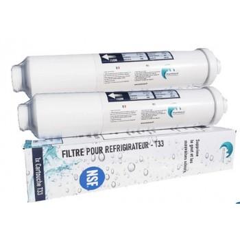 2x filtre  pour Réfrigérateur Purewave Compatible Avec Tout Frigo Americain Ou Standard