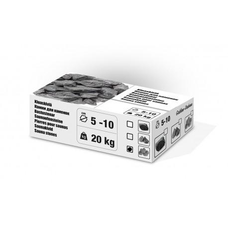 Pierres pour Sauna ~20Kg 5-10 cm pour tout poêle à sauna