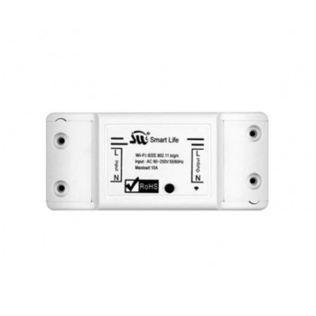 Interrupteur de lumière WiFi  intelligent à minuterie programmable compatible alexa ou google homme