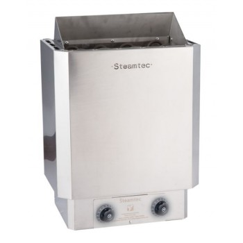 Premium 3 Kw sauna stove with built-in stainless steel finishes controls