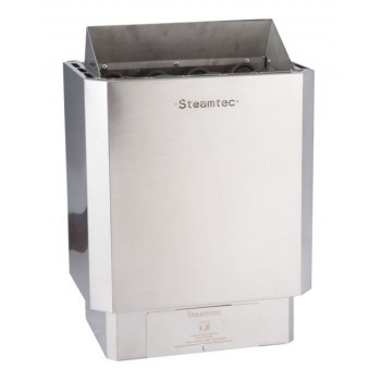 9 Kw premium sauna stove with deported stainless steel finishes