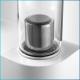 Pompe aromatherapie en acier inoxydable pour hammam 2 parfums