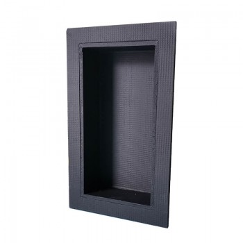 Niche in XPS ready to til 400 x 200 x 90 mm premium for bathroom steam room