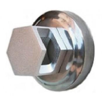 Salida de la boquilla de vapor hexagonal en acero inoxidable