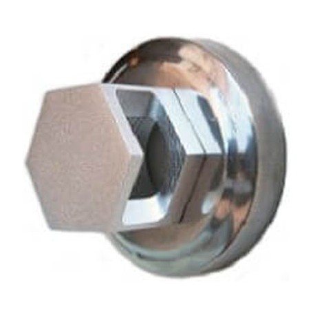 Nozzle output of hexagonal vapor in stainless steel