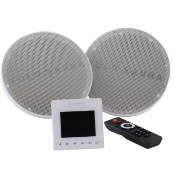 Embarazadas impermeable Kit 2 x 80W con mando remoto y control remoto central SD tarjeta/bluetooth/USB/FM