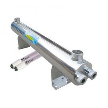 80W UV Sterilisator (6 m3/St.) mit Philips Glühlampe + Vorschaltgerät einbaufertig
