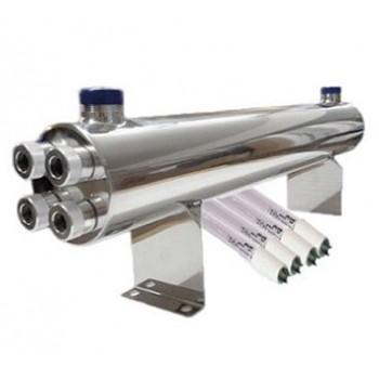 160W UV Sterilisator (12 m3/St.) mit Philips Glühlampe + Vorschaltgerät einbaufertig