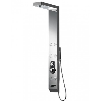 In stainless steel 150 X 18 x 8 cm S168 balneo shower column