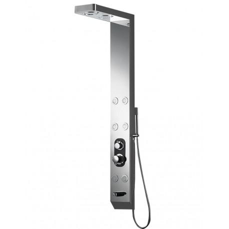 In stainless steel 150 X 18 x 8 cm S168 balneo shower column