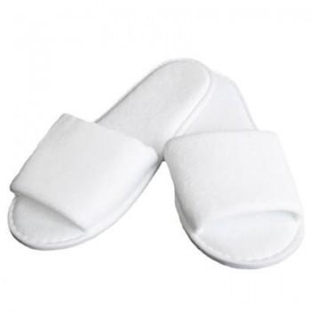 Lot de 20 paires de Chaussons éponge jetables Blancs pour Thalasso, hôtel, spa , piscine ...