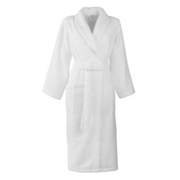 Bademantel D/H Größe M 100% Baumwolle 420 g / m2 Weiß