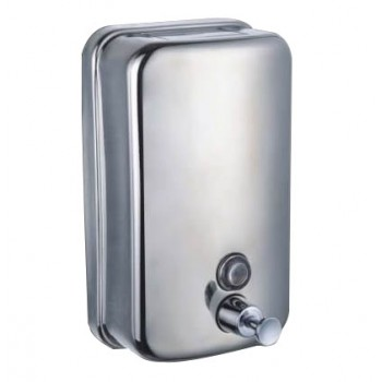 Dispenser di sapone inox acciaio anti vandalismo 1 litro