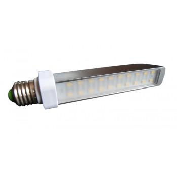 Aluminio plano de iluminación de bombilla E27 Led 9w ultra económico verde sensación