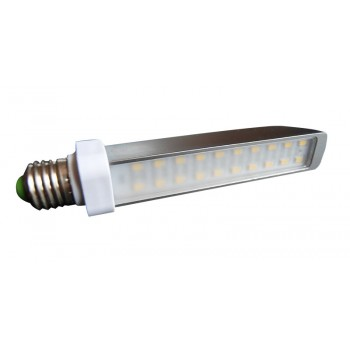 Bulb E27 Led 9w flat lighting aluminum ultra economic Green Sensation