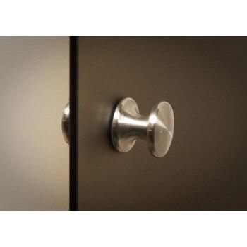 5* [rekonditioniert] Transparente Tür für Hammam 60 x 190 cm aus gehärtetem Glas 8mm Aluminiumrahmen