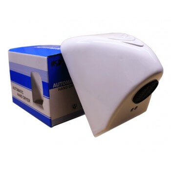 [RECONDITIONNÉ] Sèche mains compact Vitech automatique 14x21.5x16 cm 800 W infrarouge