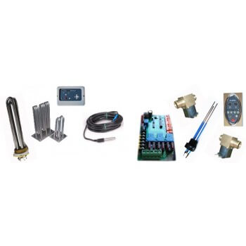 Kit completo de generador de vapor de vapor de piezas de repuesto
