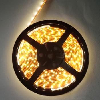 LED blanco caliente 5 m adhesiva