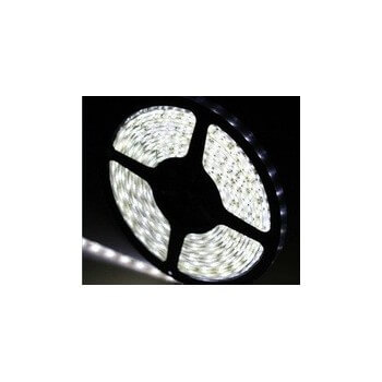 Intense white LED tape 5 m IP68 waterproof and immersible