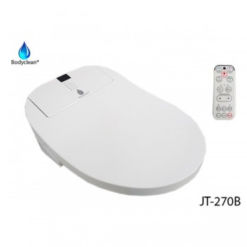 Japanese toilet with remote remote + automatic toilet side panel flap full options 270B