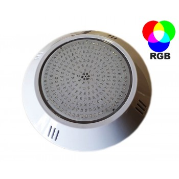 RGB extra flat resin LGB pool projector injected 252 LED diameter 26cm