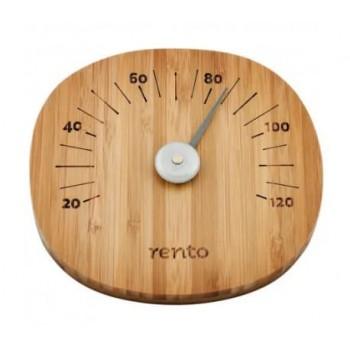 Termómetro de sauna de bambú RENTO
