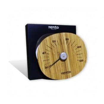 RENTO bamboo sauna thermometer