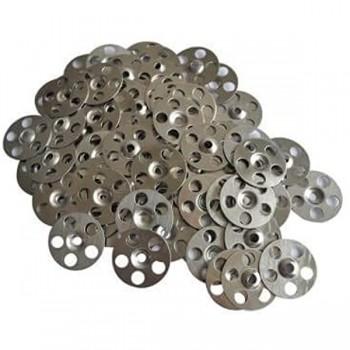 Staffe (x 50) pronto per affiancare le rondelle in acciaio inossidabile pannelli