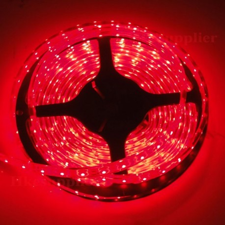 Red 5 m IP68 waterproof and immersible LED tape