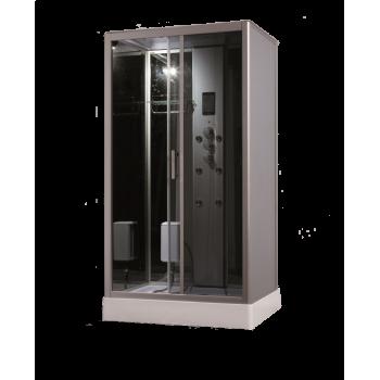Opzioni complete di doccia cabina vapore camera 120 x 90