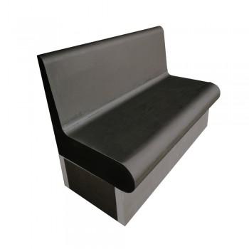 Banc arrondis 1200x586 cm avec dossier XPS prêt à carreler pour hammam et salle de bain valstorm