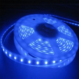 Blue 5 m IP68 waterproof and submersible LED tape